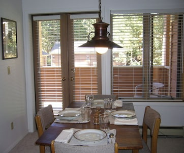 Dining Area - Access to one of two decks
