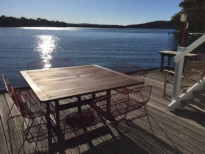 Enjoy the sunset on your own private Deck!