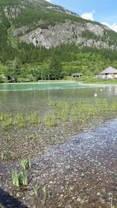 Lac du Pontillas à 5 min de marche