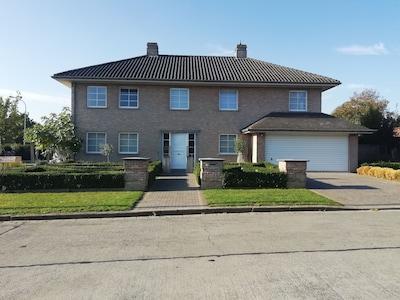 Kleiner Beginenhof ter Hoye, Kortrijk, Bezirk Flandern, Belgien