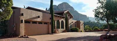 you'll find plenty of room to roam at this 2 acre estate.