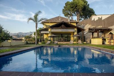 Villa de lujo, Vistas al mar,Jardin con wifi,Cine exterior