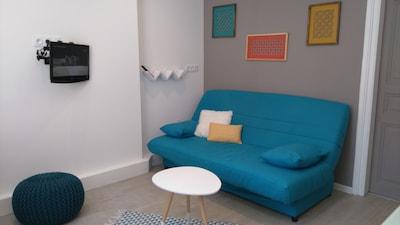 Séjour de l'appartement Rue du Sablon - Millau