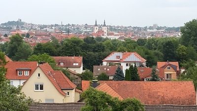 Ausblick zur Innenstadt Fulda