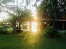 Sunrise in the Palenque beach property