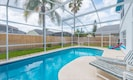 Private, south facing pool with optional heating.