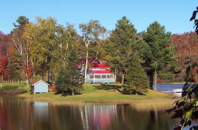 Great Hosmer Pond, Craftsbury Common, Vermont, United States of America