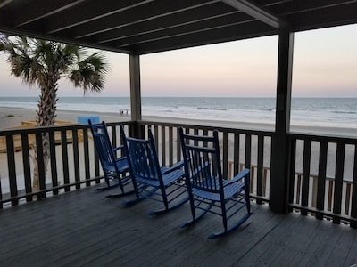 Oceanfront, So Very Close to the Water's Edge! Best Beach Access!  RELAX