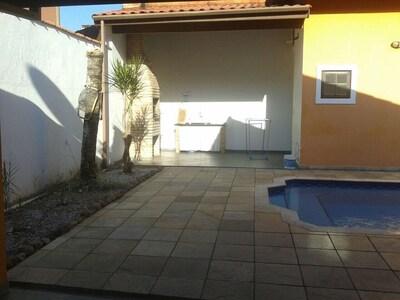 Casa em Condomínio c/ Piscina - Caraguatatuba Praia Mococa