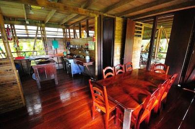 Casa Bambu main room by guest James McCraw