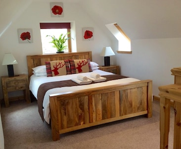 Cozy, well furnished and comfortable master bedroom