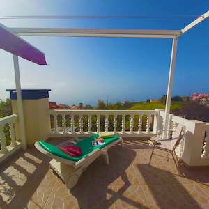 Vast ocean views from south facing balconies: all day sunshine