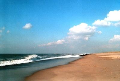 Der Strand in Vrist