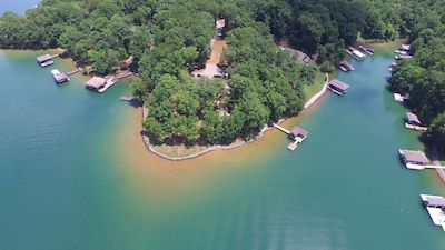 Heron Point Aerial View