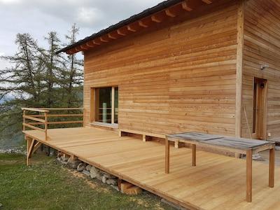 Notre toute nouvelle terrasse  !