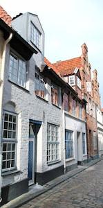 Seafarer's Guild, Luebeck, Schleswig-Holstein, Germany