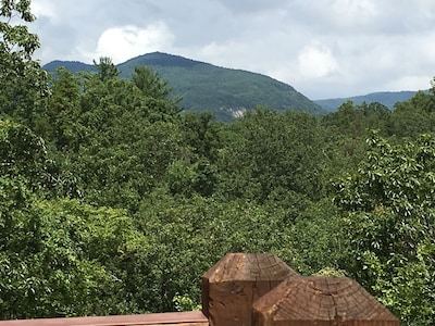 Mountain view from rears decks