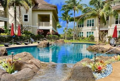 Moir Gardens (Botanischer Garten), Koloa, Hawaii, USA