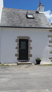 facade de la maison  orientation Ouest