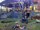 Enjoy a camp fire in the backyard!