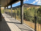 View of Pine Creek from back deck