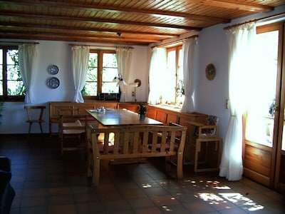 Wohnküche - Sitzecke