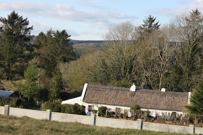 Historic Thatched Cottage in the valley of the Ox Mountains....
