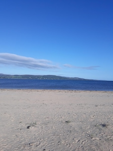 lisfannon beach 5 mins walk from your apartment