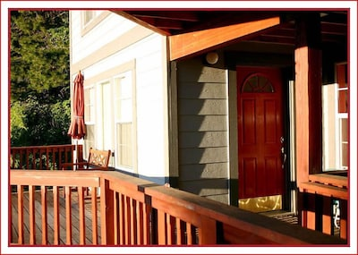 The RED DOOR apt. - guest unit at the SUNSET HOUSE