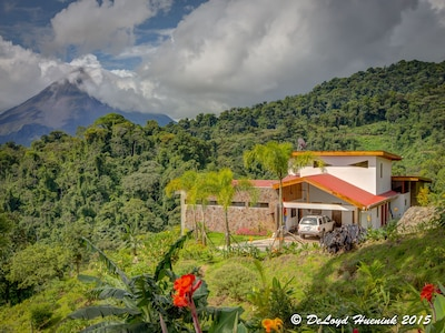 """""""Your"""" house. Arenal Volcano in view, Rainforest and Cloud forest in view."""