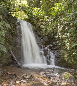 Hike to our Walden waterfall on trails from the Whitehawk property
