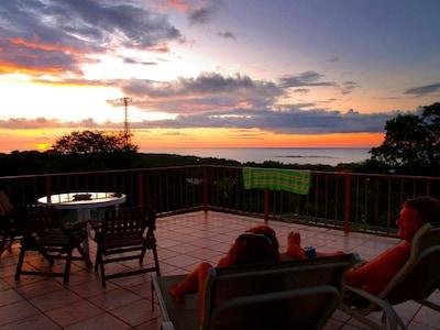 Observation deck at Casa Bambora