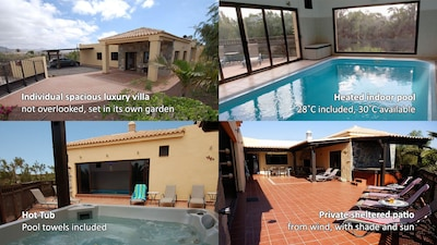A private, luxury individual villa, extremely well equipped and cared for.