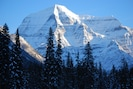 Mt. Robson from Resplendent Mountain Lodge