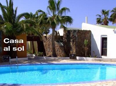 Casa al sol direkt neben dem Pool