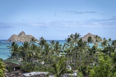 Lanikai, Kailua, Hawaï, États-Unis d'Amérique