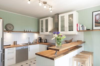 Die Küche - das Gourmetzentrum des Ferienhauses