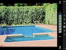 Larger pool for swimming laps or playing games and can  be heated cooler weather