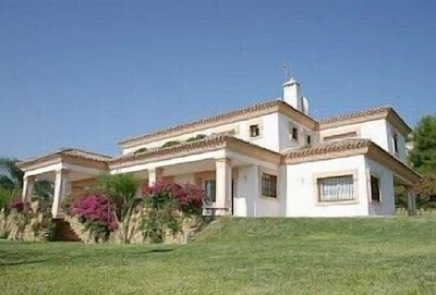 Villa Mirasierra from the garden