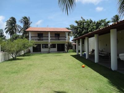 Flats de 3 quartos em Barra do Serinhaém na beira - 3 suites