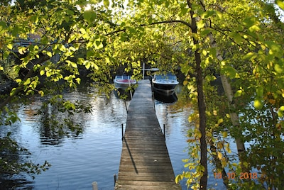 Boat Slip on Private, Shared Dock on Squam Lake - just steps from Curry Cottage!