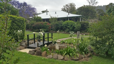Historical homestead and beautiful gardens on a 160 acre cattle property