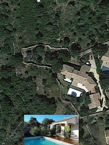Situation de la maison  Via Google Maps