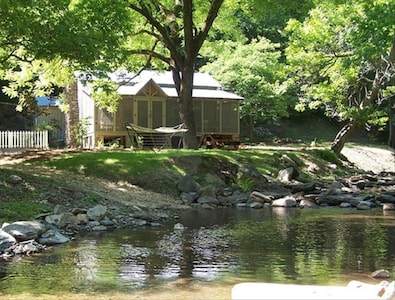 Wildacre Cabin on Sugar Creek, in the North Georgia Mountains