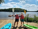 Rentals at Moraine View restaurant+Bait shop. Kayaks, canoes, paddleboats/boards