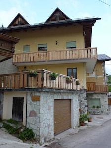 Apartment mit Blick auf das Cadore-Tal