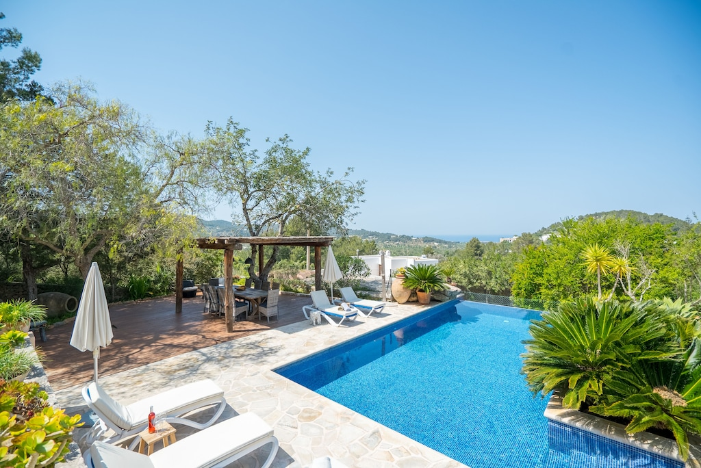 Luxury Ibiza Villa For 8 Sleeps Possibility 10 People Private Pool Sant Agusti Des Vedra