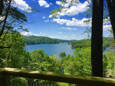 Lake Glenville, Cullowhee, North Carolina, USA