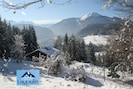 Breathtaking views from Chalet Le Moulin.com