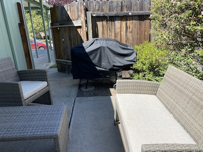 Patio Seating and BBQ GRILL